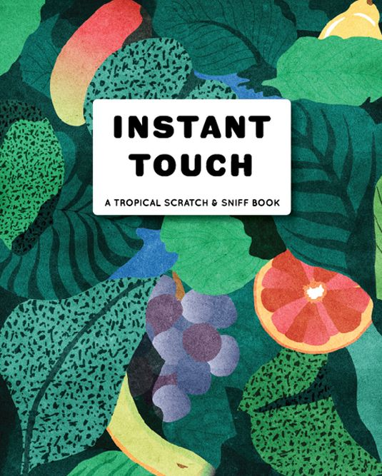 Belly Kids Tropical Scratch 'n Sniff book out this summer. Cover by moi.  Becca Allen.