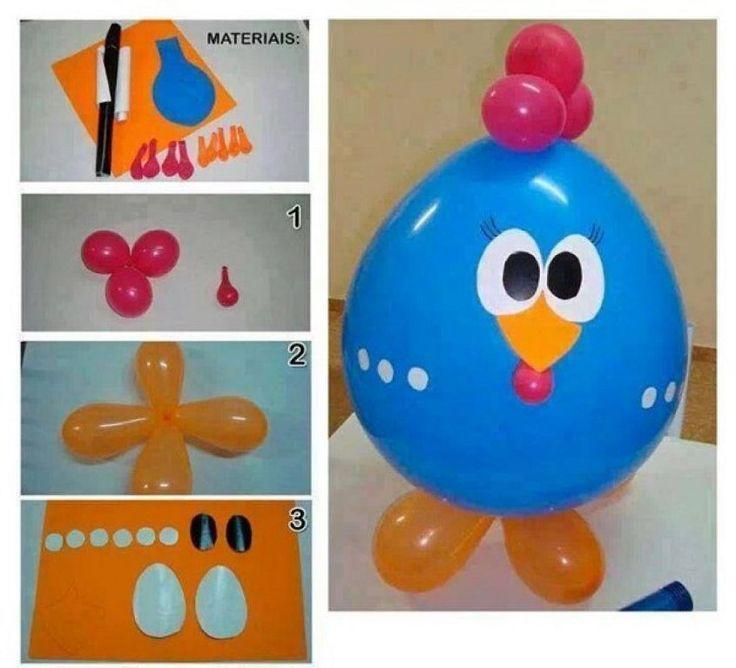 Ideas para decorar cumplea os con globos blog ideas - Manualidades para cumpleanos ...