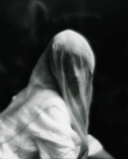 The Dream (Veiled Woman) by Imogen Cunningham, 1910/1975