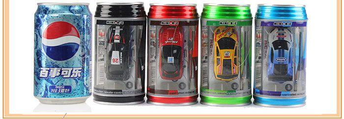New Coke Can Mini Speed RC Radio Remote Control Micro Racing Car Toy Gifts
