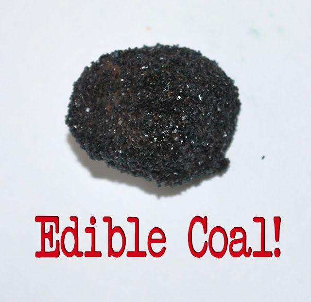 Perfect Christmas Gift: Edible Coal | Holiday: Christmas | Pinterest ...