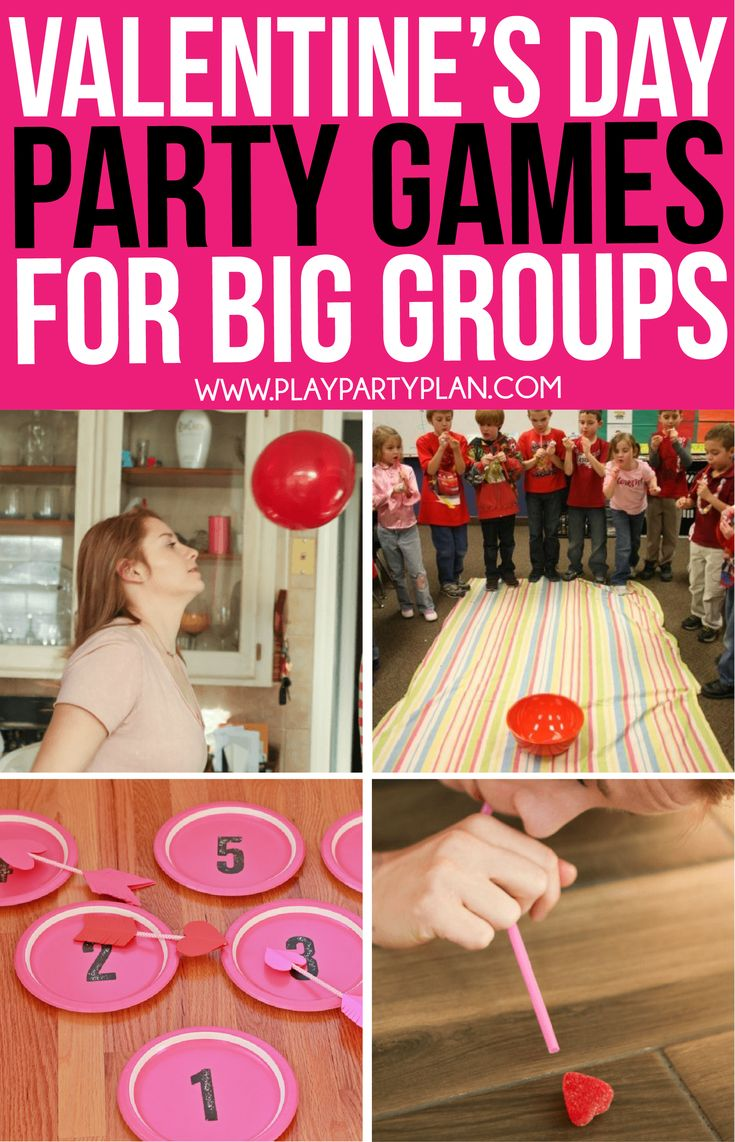 Awesome Valentine's Day games for adults and big groups