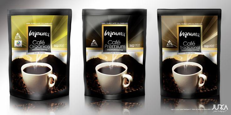 Diseño de empaque para café orgánico