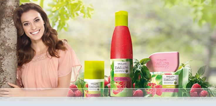 Nature Secrets body and bath products by Oriflame