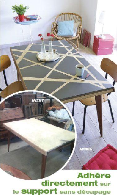 1000 id es sur le th me d capage de peinture sur pinterest - Peinture meuble sans decapage ...