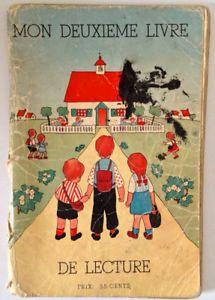 Antiquite 1955 Livre Scolaire Mon Deuxieme Livre De