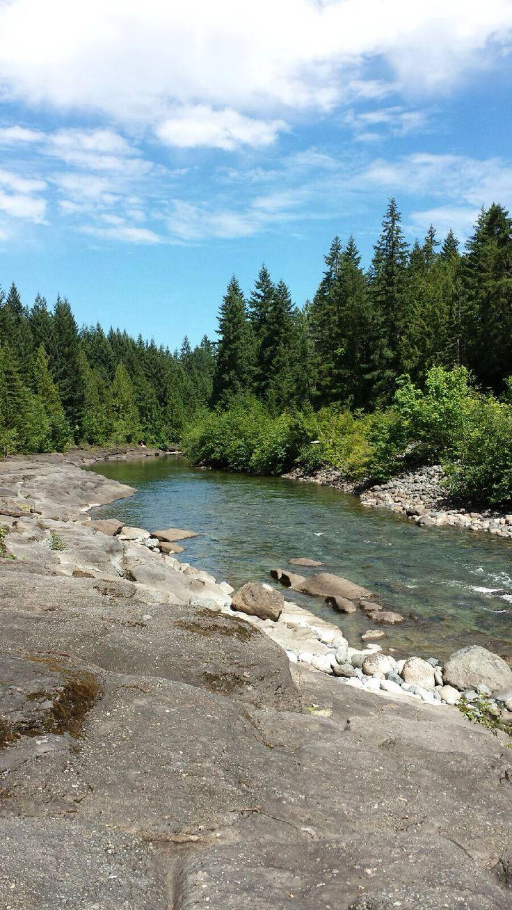 The Nanaimo River, a favourite spot amongst locals. #ExploreNanaimo