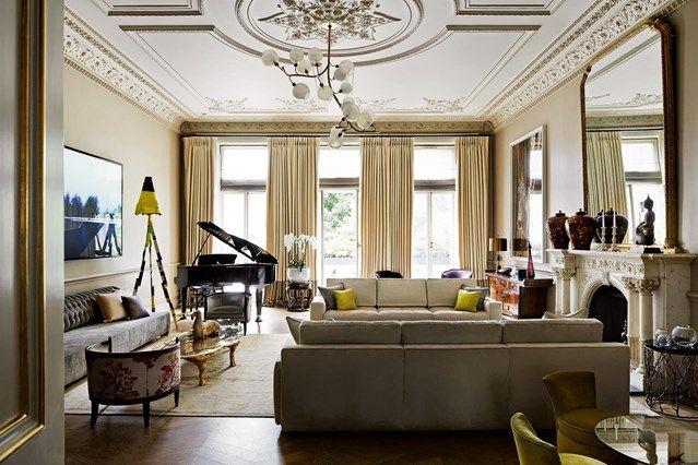 Living room decor ideas contemporary living room home for Modern 1930s living room