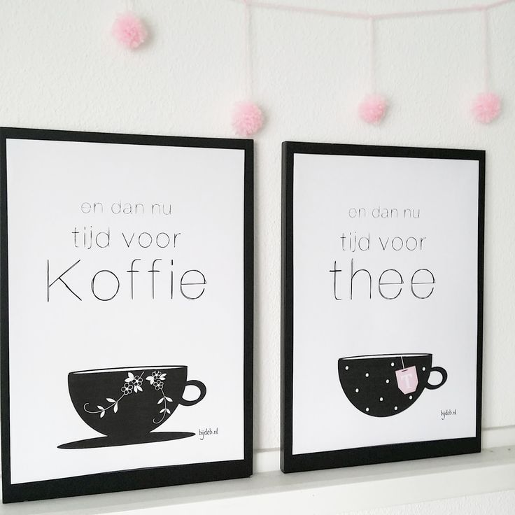 bijdeb: 2x Free printable en dan nu tijd voor koffie/thee...
