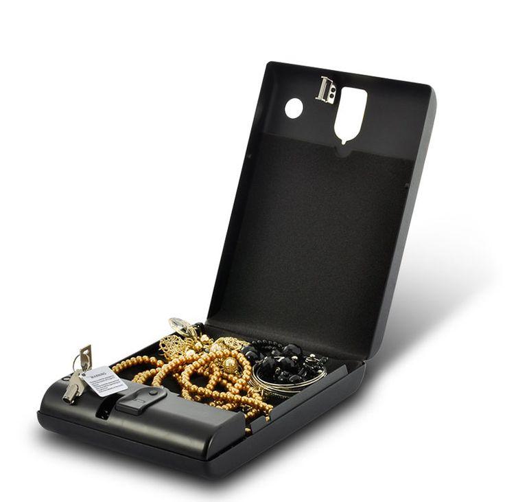 Box Portable Security Safe Lock Home Cash Storage Travel Key Gun New Combination