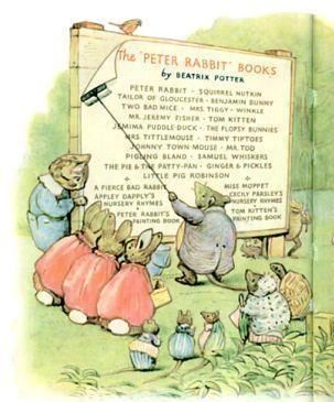 List of Peter Rabbit Books