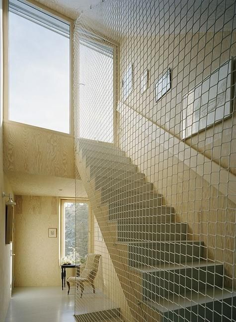 chicken wire balustrade