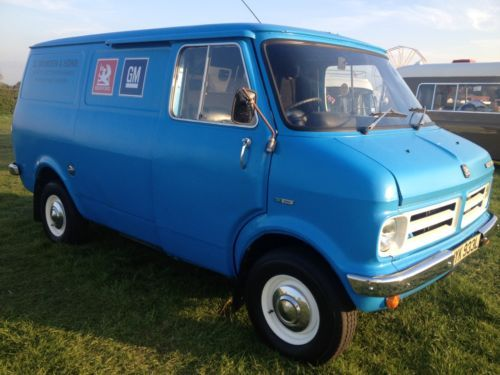 BEDFORD CF mk1 Panel Van 1972 Sliding door model RARE | eBay