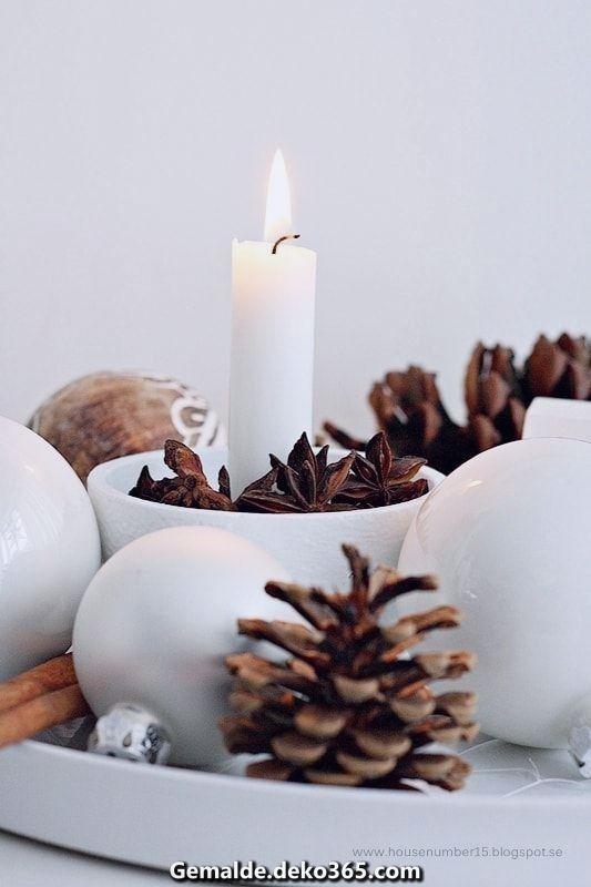 Elegante Ein skandinavisches Weihnachtsfest