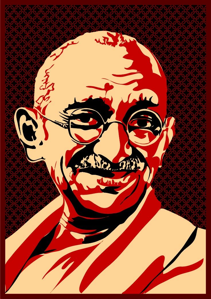 8 best Gandhi images on Pinterest | Artists, Mahatma ...