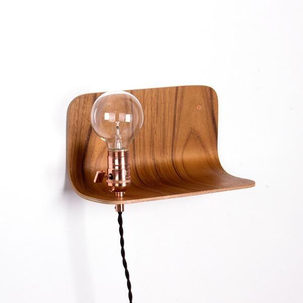 Plywood side shelf - onefortythree