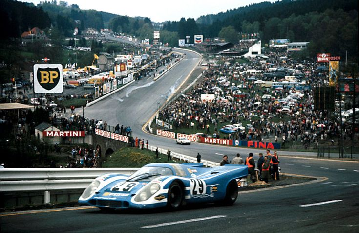 1970 .. Spa 1000kms . The 6th Placed Porsche 917 , Entered