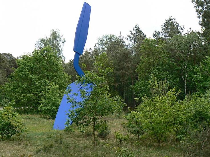 Trowel-Claes Oldenburg in Chaudfontaine, Netherlands