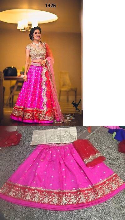 Choli 155247: Designer Party Wear Wedding Indian Pakistani Saree Sari Bollywood Ethnic Lehenga -> BUY IT NOW ONLY: $44.99 on eBay!
