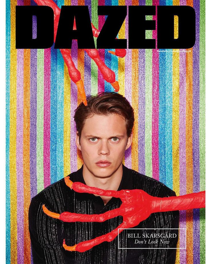 "9,194 Likes, 89 Comments - Dazed (@dazed) on Instagram: ""Don't look now! #BillSkarsgard who stars as Pennywise the Clown in the new film adaptation of…"""