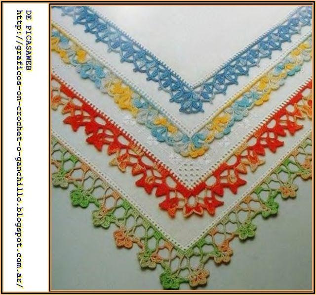 vainicas #bordados #puntillas #crochet Muestras y Motivos propone ...