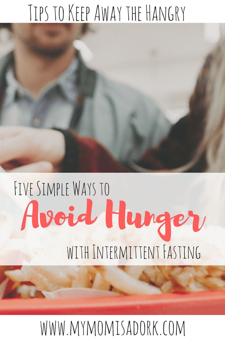 Tips and tricks for dealing with hunger while doing Intermittent Fasting #controllinghunger #dieting #intermittentfasting