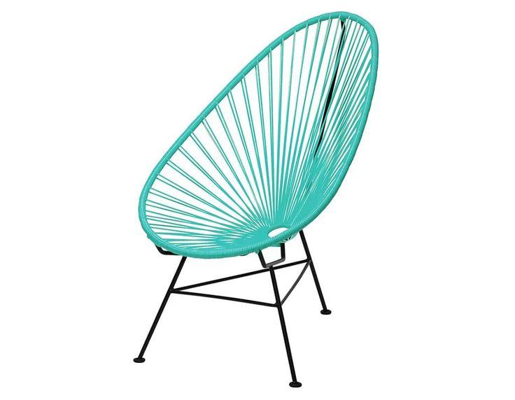 メキシコで生まれた椅子にメトロクスでリデザインをしたアカプルコチェアの販売。メキシコのリゾート地の名を冠したアウトドア、インドアの両方に対応したラウンジチェアです。ハンモックのような包み込まれる座り心地をお楽しみください。