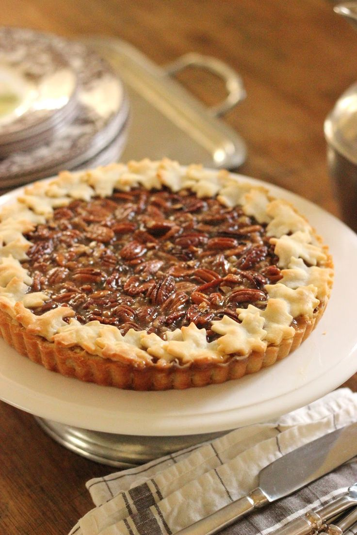 It is not Thanksgiving without multiple dessert options. Everyone has a pumpkin pie, of course. Pecan is usually a close second. ...