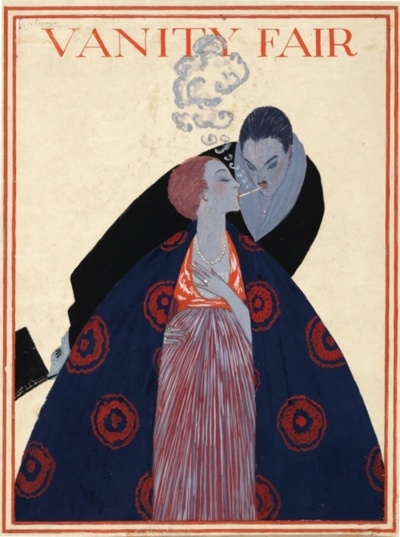 cMag177 - Vanity Fair Magazine cover by Georges Lepape / December 1919
