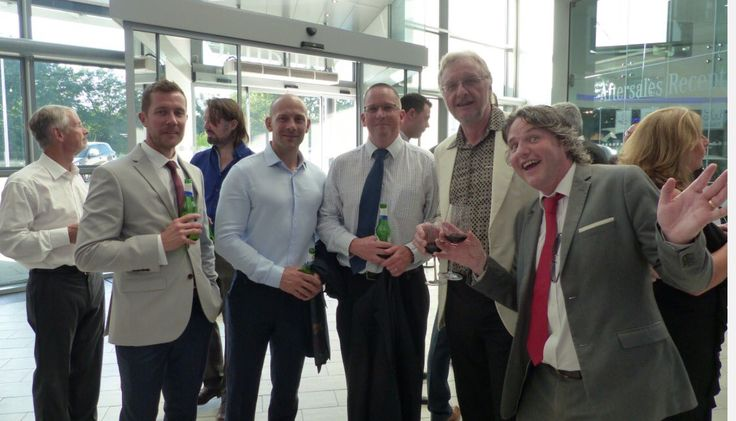 Mark Turner from @ArmstrongCeilin looking suitably animated with our Omegas at the #DuneEvo #NewBeginnings launch event.