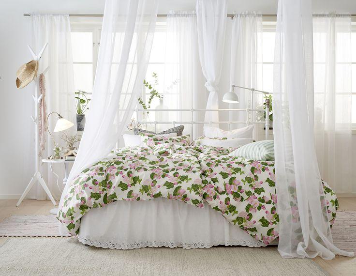 Romantiskt blomstrande sovrum!