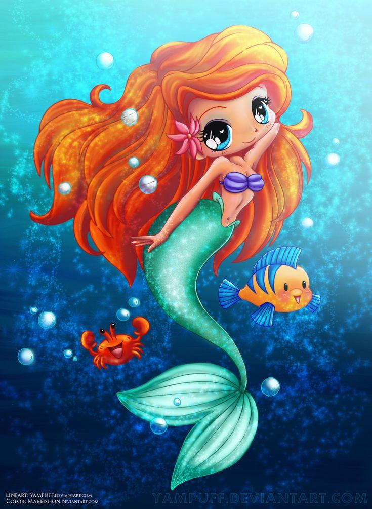 The Little Mermaid by Mareishon.deviantart.com on @deviantART
