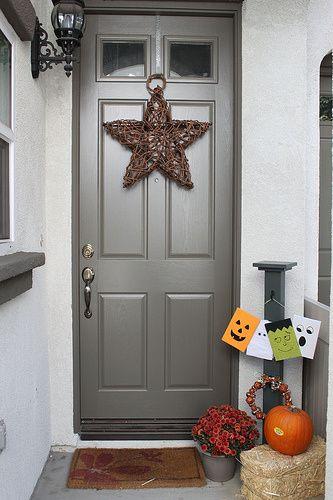 DIY – Front Door Sign Post | Changing My Destiny