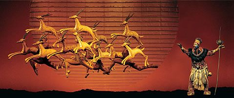 Lion King musical tickets and show guide (Lyceum Theatre, London)