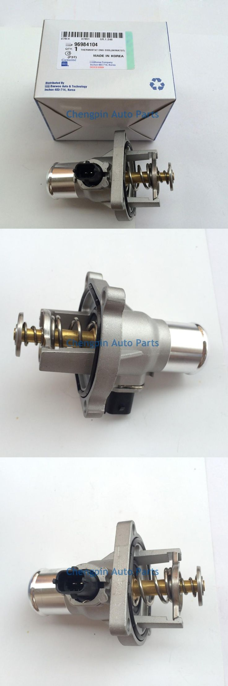 visit to buy 2pcs lot engine coolant thermostat assembly oem
