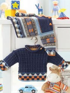 Baby's Sweater   Free Pattern
