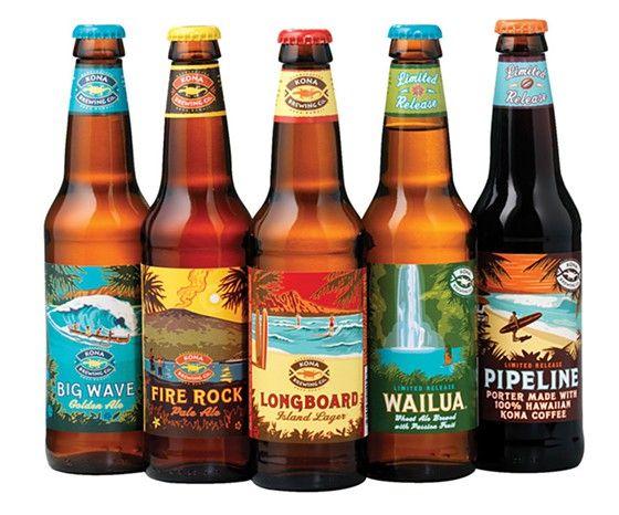 Kona beers to stock