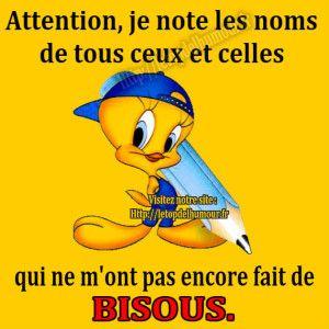 Attention , je note