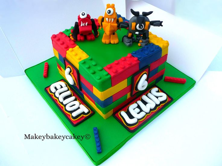 Decorating Ideas > Lego Mixels Birthday Cake For Twin Boys Credit  ~ 224458_Birthday Party Ideas Nottingham