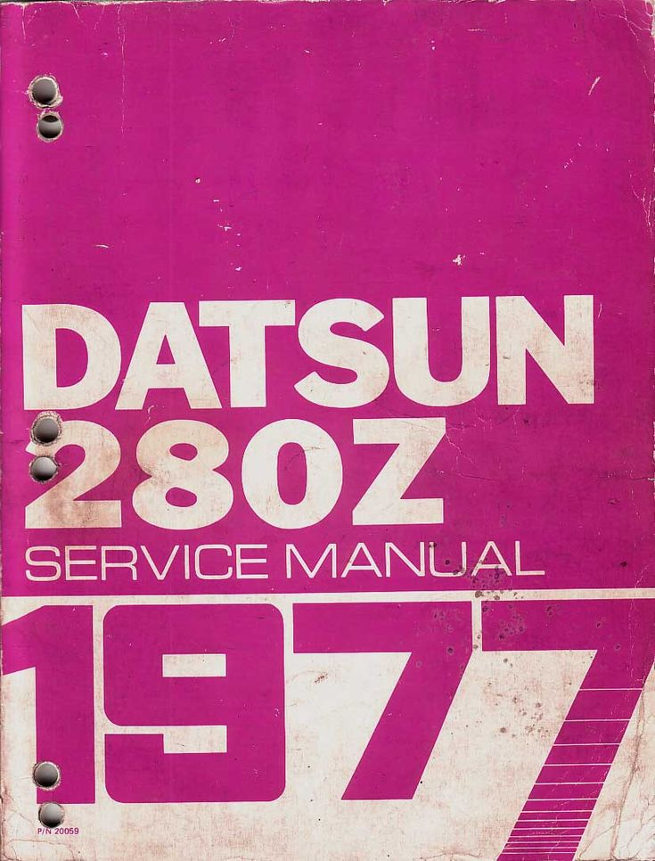79 best the art of manuals images on pinterest books blankets and datsun 280z service manual 1977 jdm 70s fandeluxe Gallery