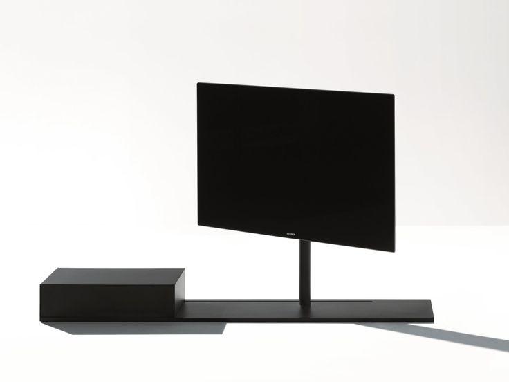 Móvel tv giratório de metal SAIL 302 by Desalto design CARONNI