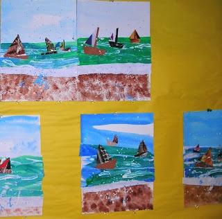 3-RD GRADE....SEA SCAPES