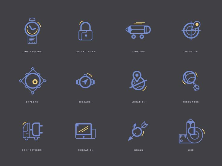 Management Icons by spovv