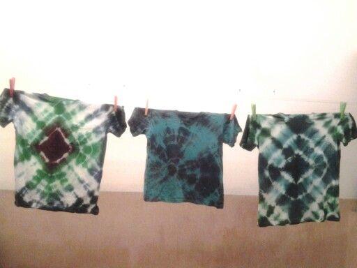 Diamond tie dye