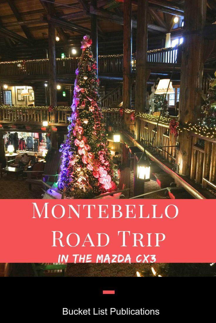 Montebello Road Trip In The Mazda Cx3 Canada Travel Road Trip Canada Travel Guide