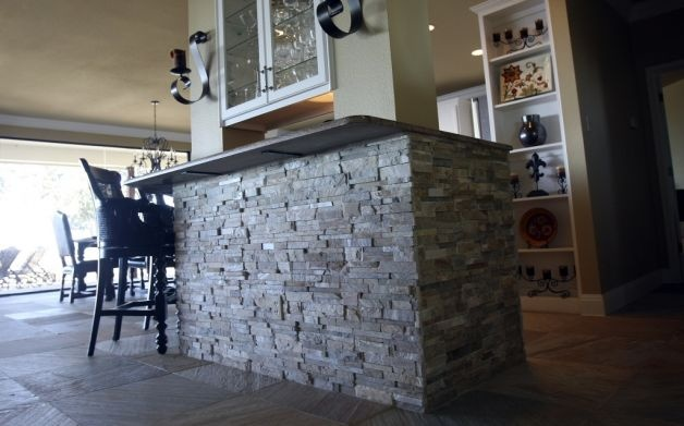 Stacked Stone Backsplash Google Search For The Home