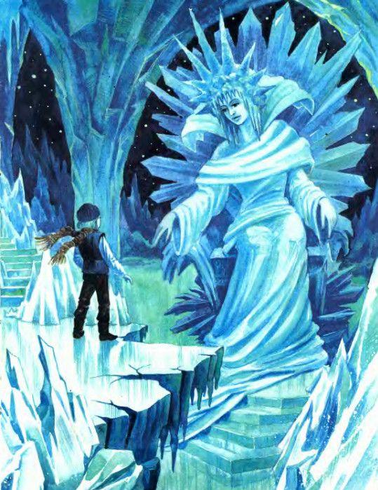 Сказочные Иллюстрации: Леонид Золотарев - Снежная королева*