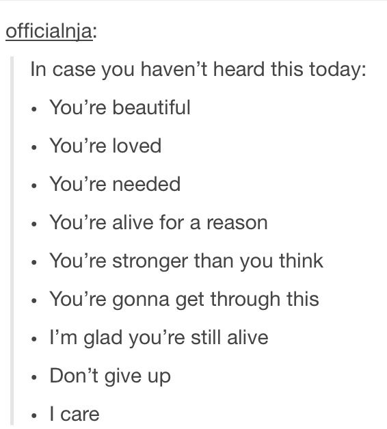 Don't give up, you can do this <3