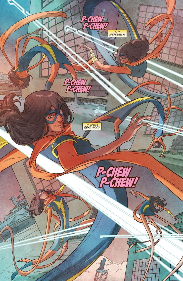 Ms. Marvel (2016) Issue #19 - Read Ms. Marvel (2016) Issue #19 comic online in high quality