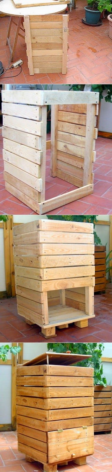 Alternative Gardning: Tutorial for compost container - Great for the environment and your garden.